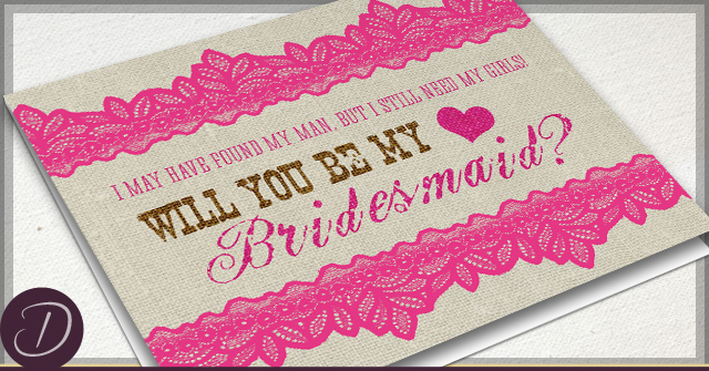 rustic will you be my bridesmaid cards. Black Bedroom Furniture Sets. Home Design Ideas
