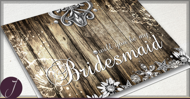 Rustic Cards by J