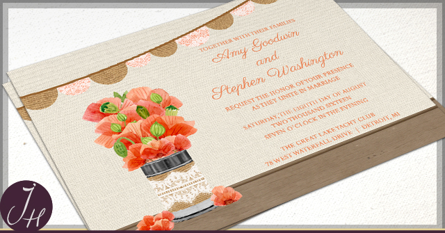 Rustic Tin Can Wedding by JH
